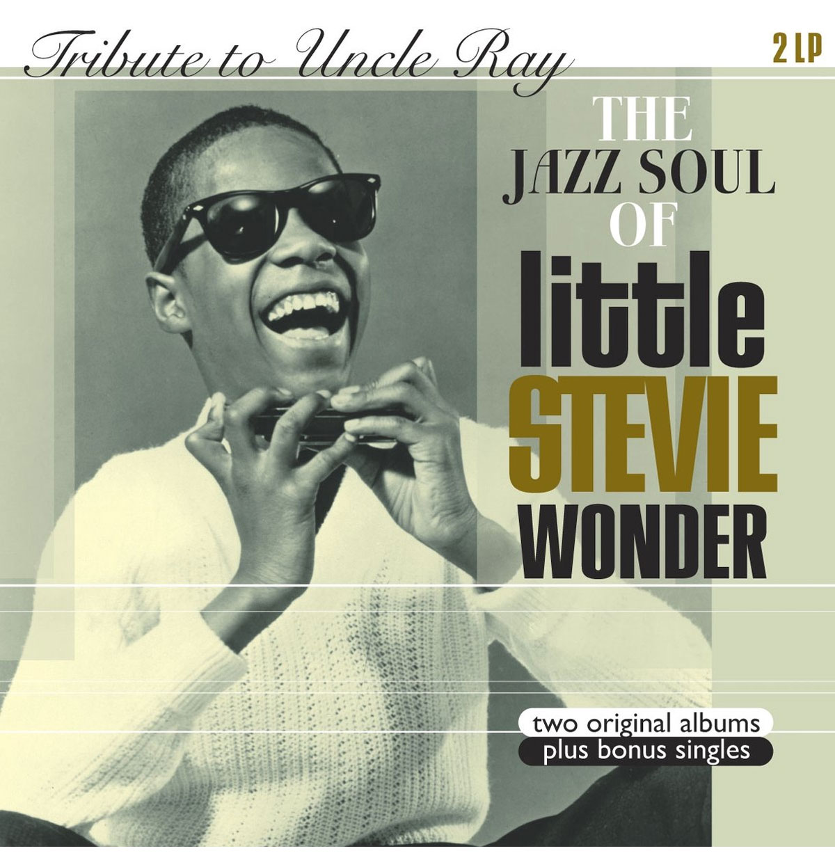 Tribute To Uncle Ray & The Jazz Soul Of Little Stevie Wonder 2-LP