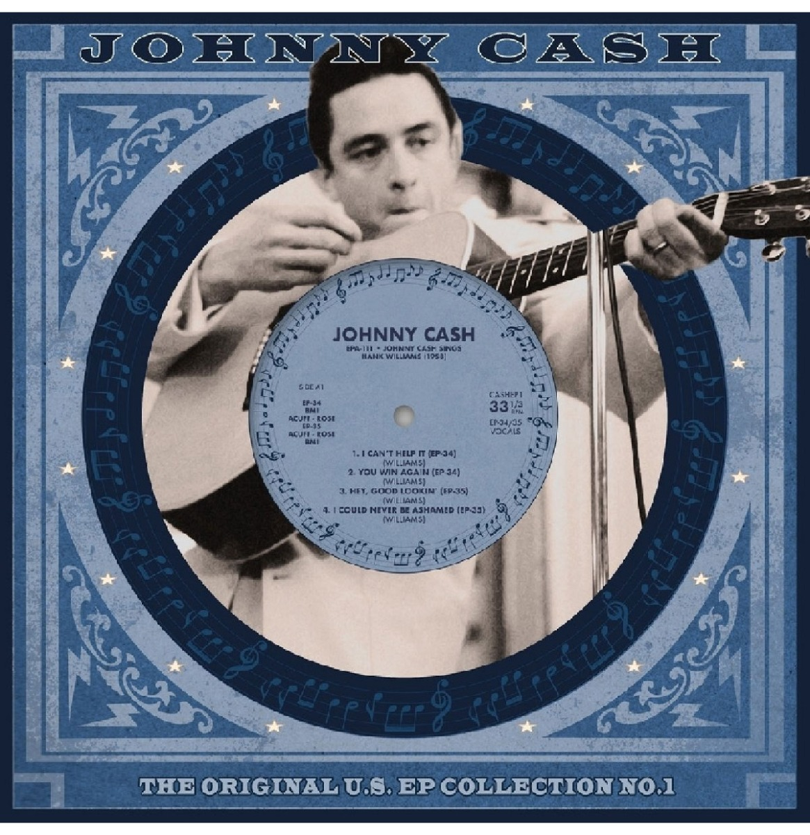 Johnny Cash - The Original U.S. EP Collection No. 1 EP Beperkte Oplage
