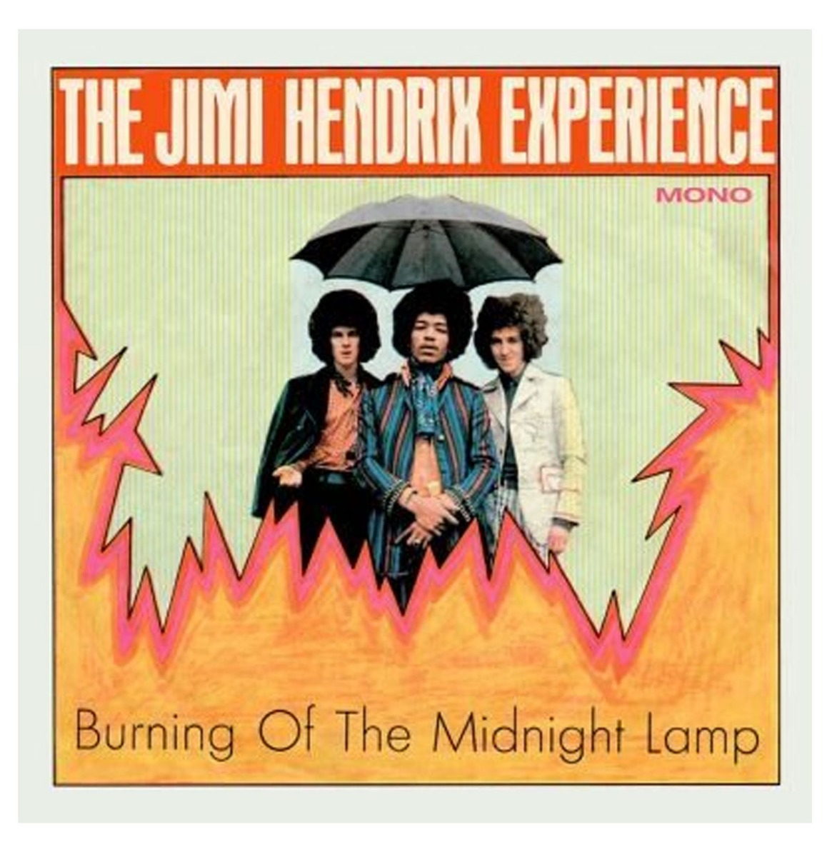 The Jimi Hendrix Experience - Burning Of The Midnight Lamp EP Beperkte Oplage