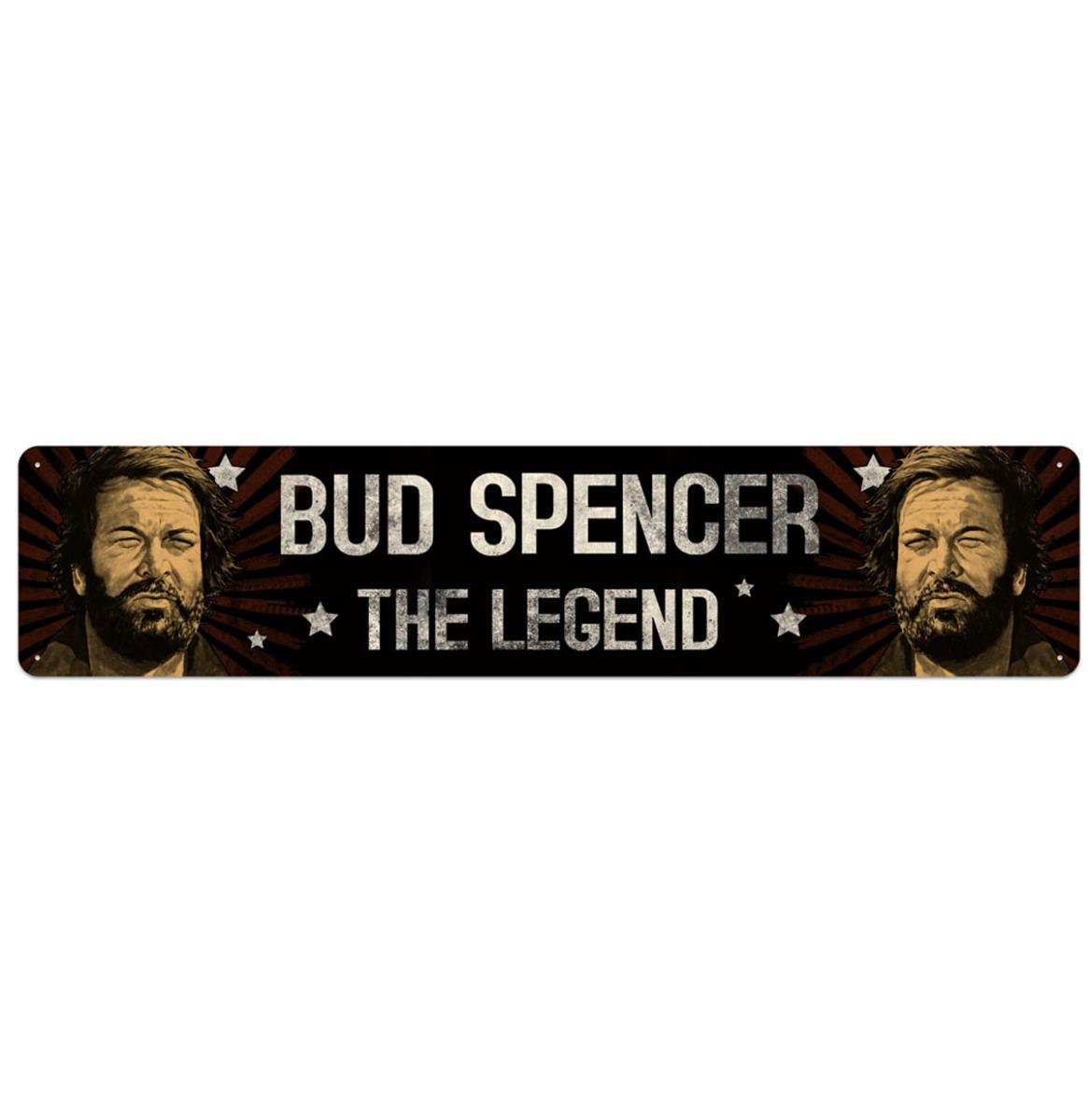 Bud Spencer The Legend Straatbord 46 x 10 cm