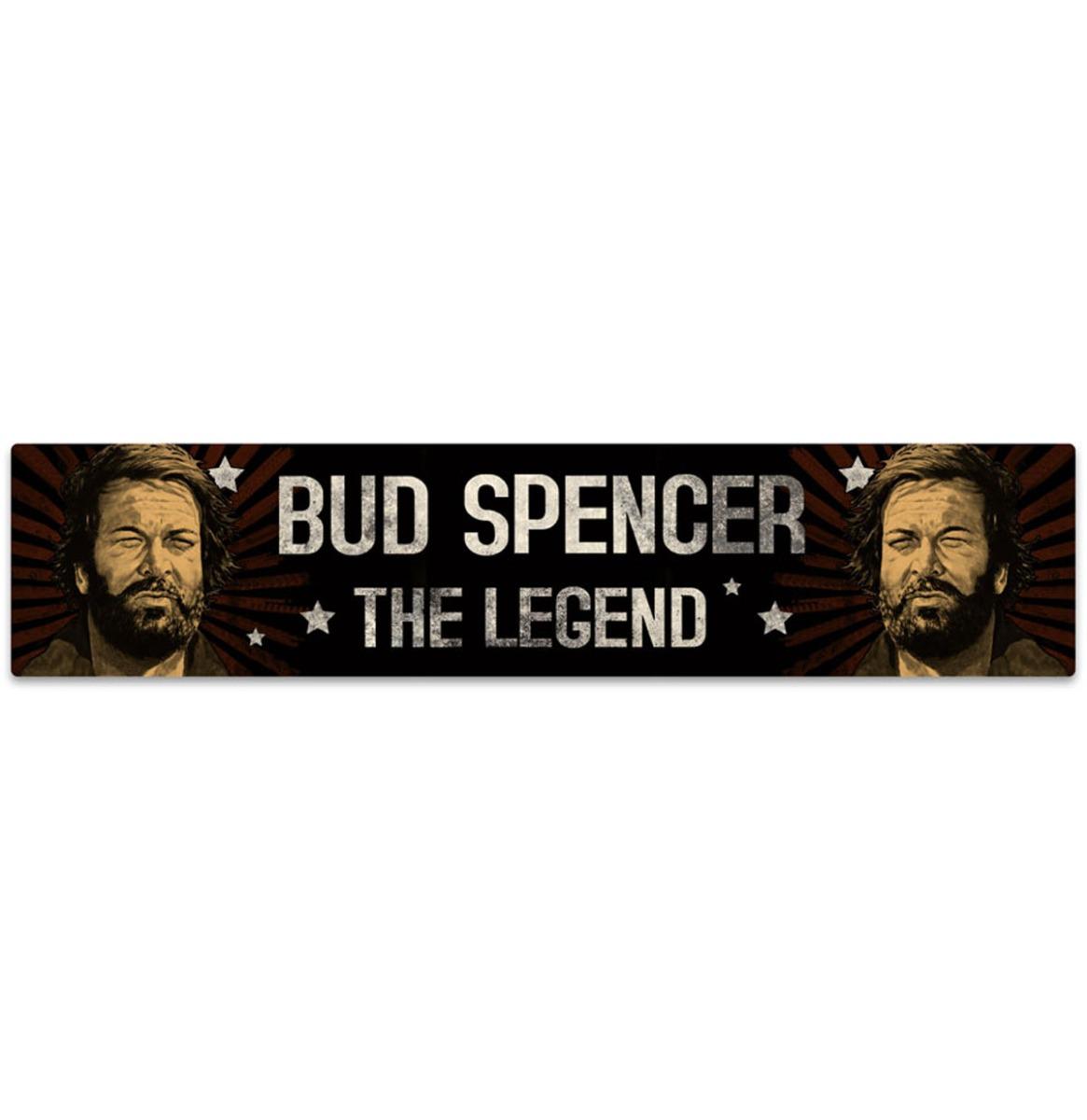Bud Spencer The Legend Street Sign Magneet 16 x 3.5 cm