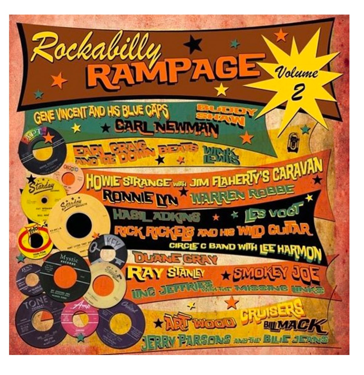 Various Artists - rockabilly Rampage Vol.2 LP