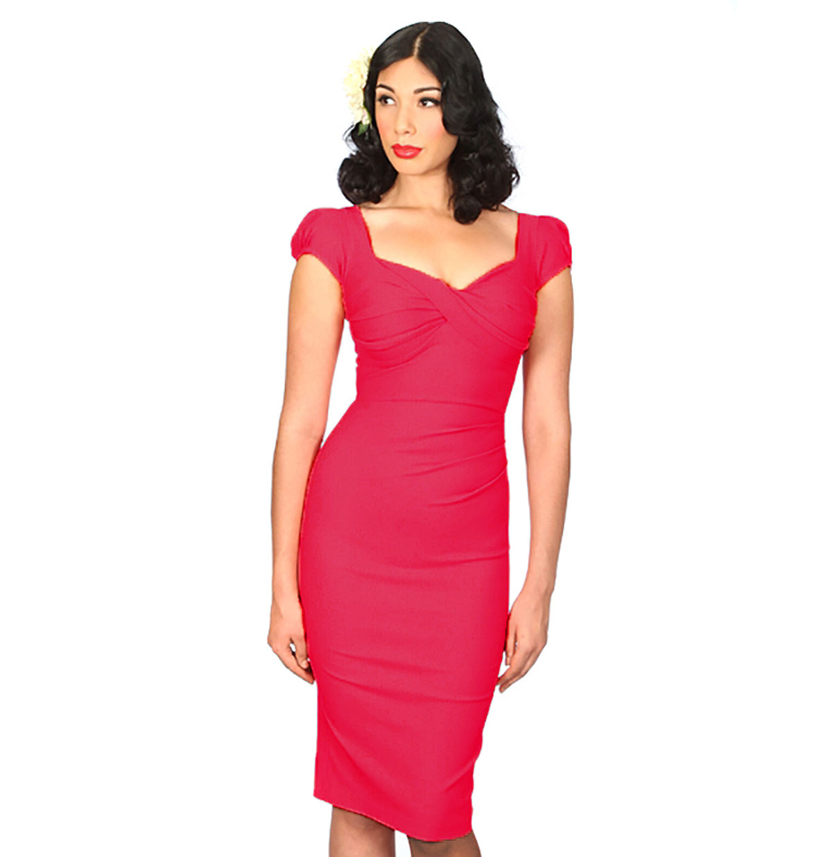 Billion Dollar Baby Dress, Hot Pink