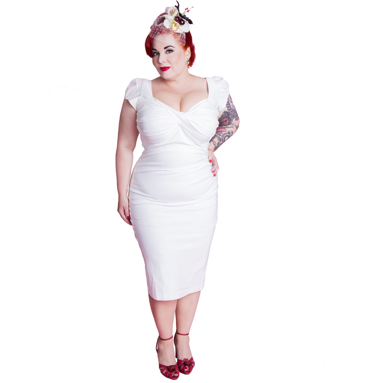 Billion Dollar Baby Dress, Ivory