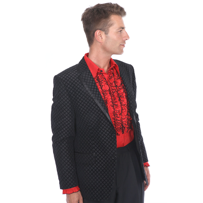 Show Jacket, Black Honeycomb