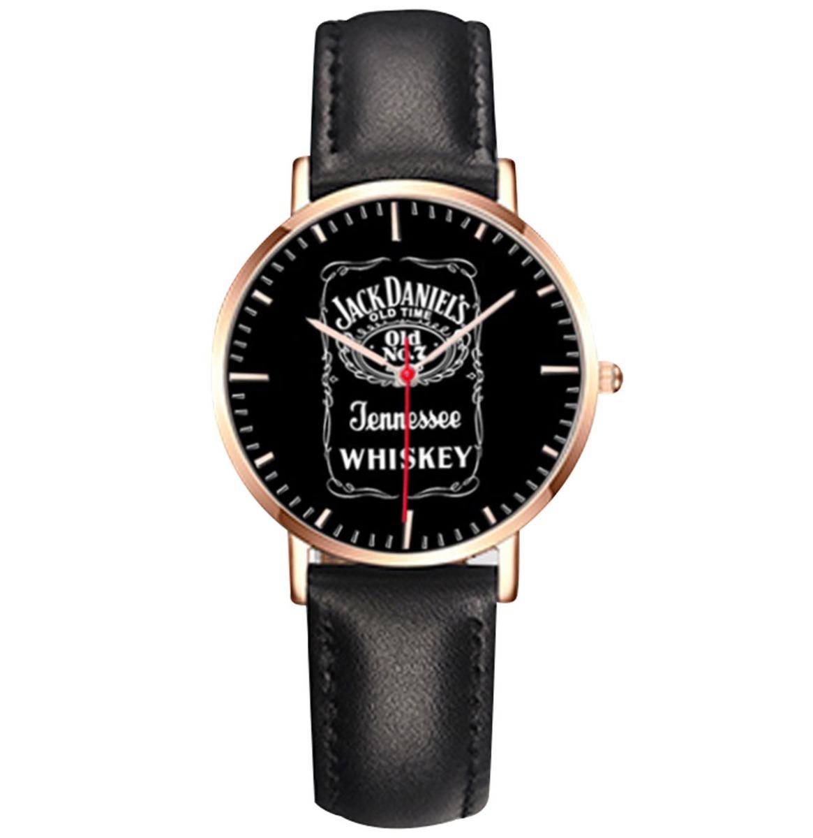 Jack Daniel's Horloge Zwart Bandje