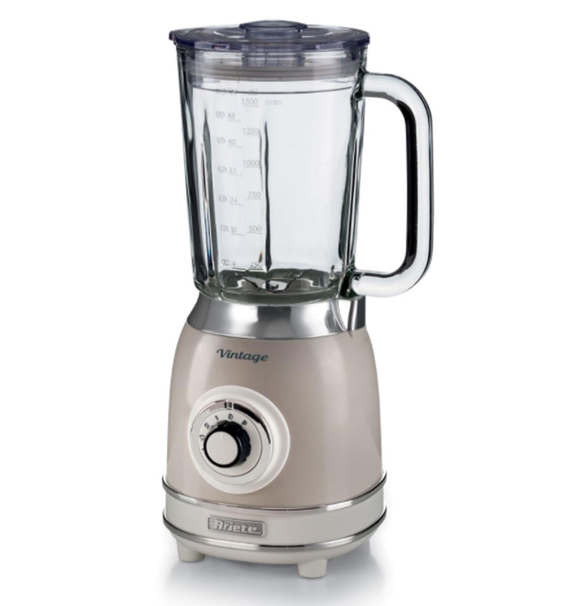 Ariete Vintage Blender - 1000 Watt - Beige 1,5 Liter