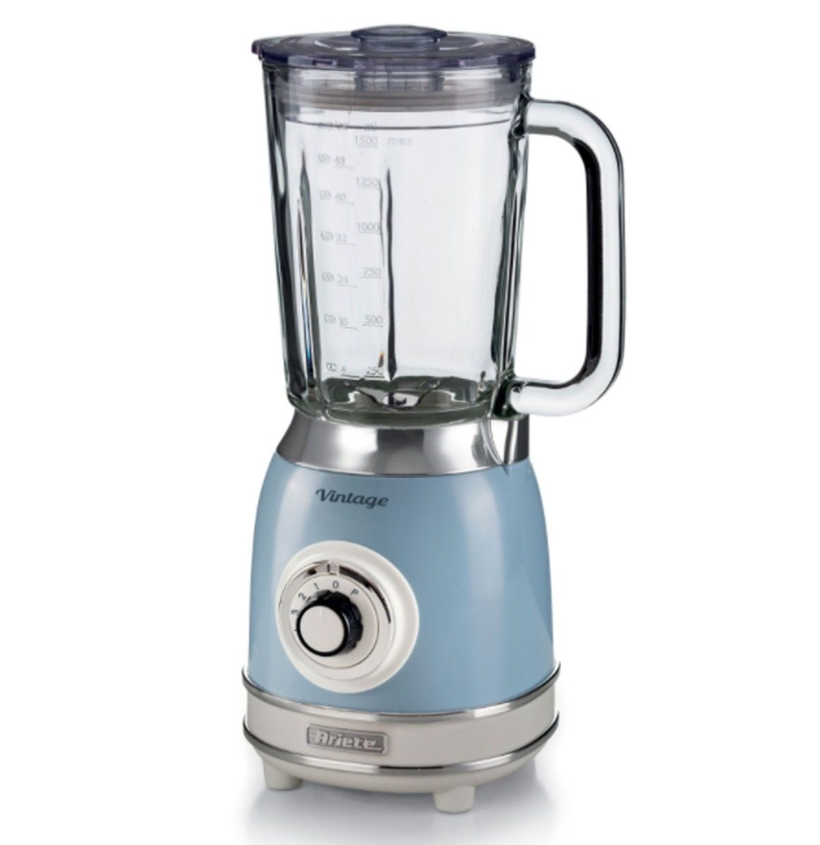 Ariete Vintage Blender - 1000 Watt - Blauw