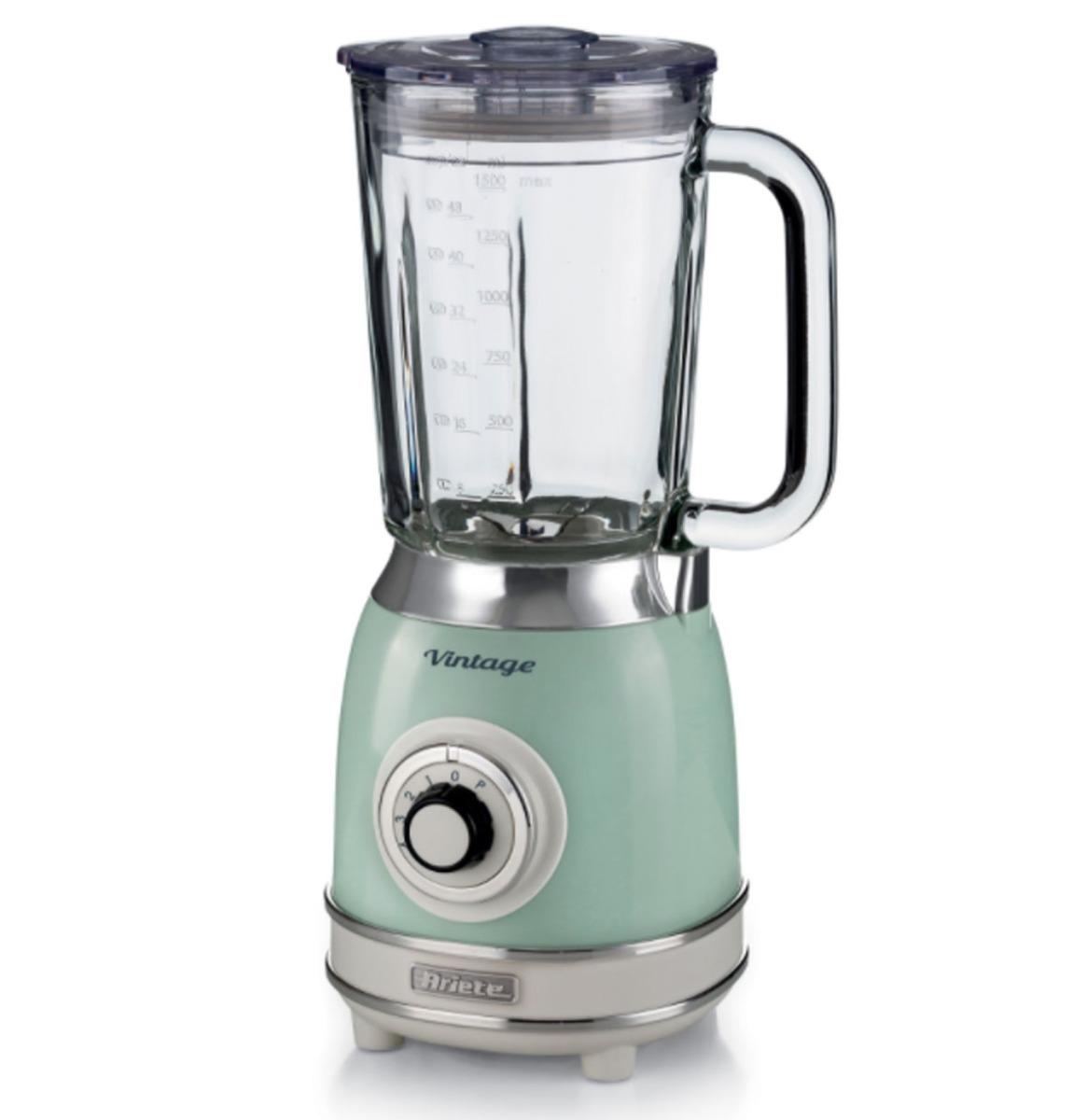 Ariete Vintage Blender - 1000 Watt - Groen 1,5 Liter