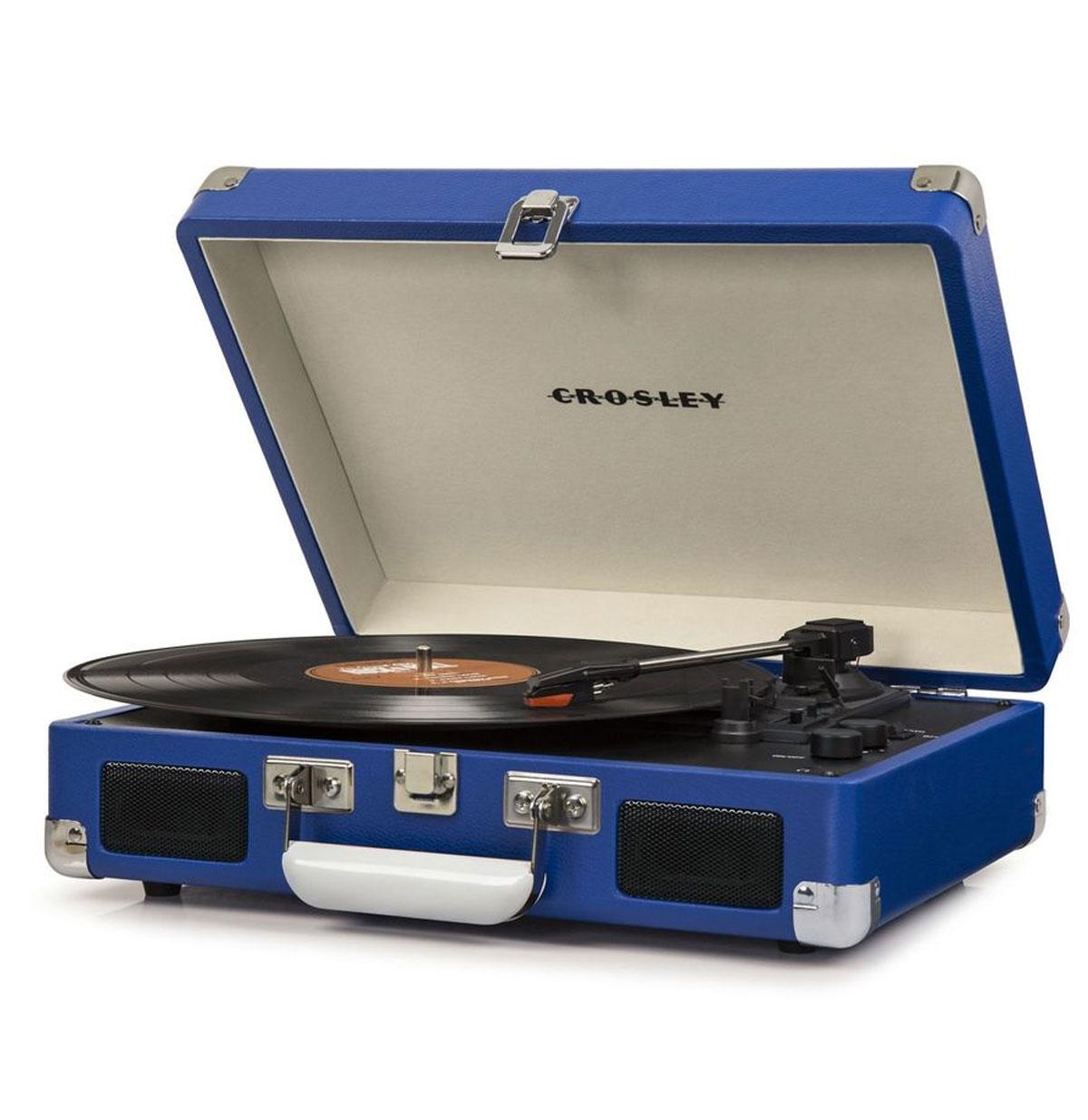 Crosley Cruiser Deluxe Platenspeler Blauw