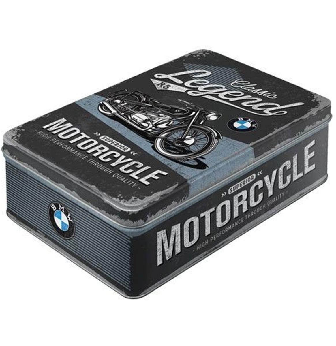 BMW Classic Legend Motor Tinnen Plat Blik