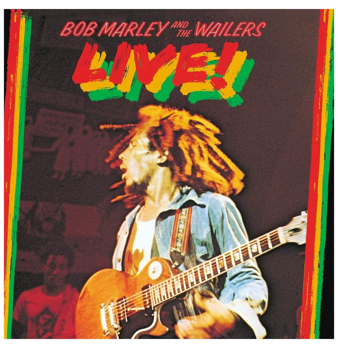 Bob Marley and the Wailers LIVE! 3LP