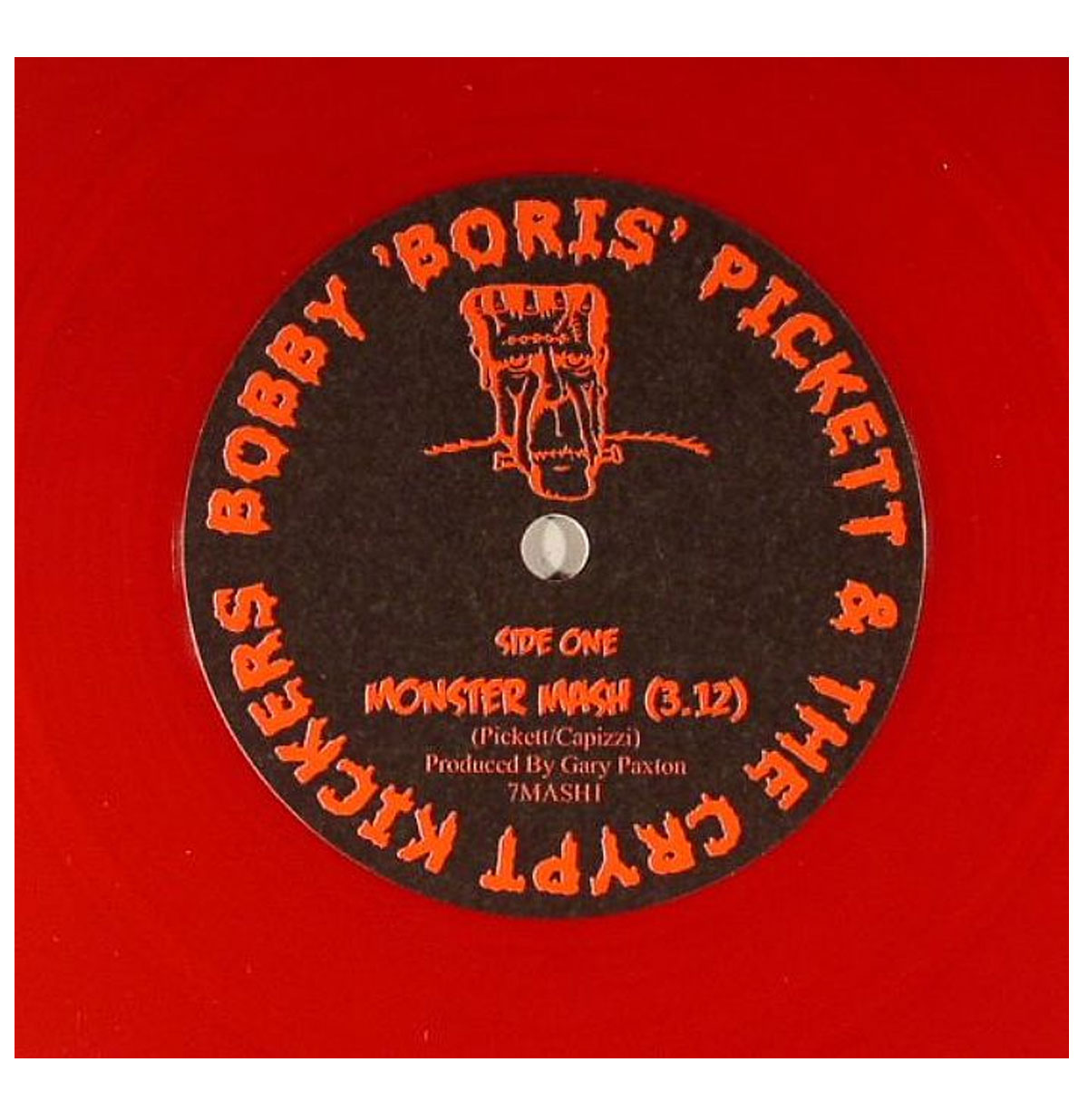 Bobby Boris Pickett & the Crypt Keepers - Monster Mash 45 RPM -Red