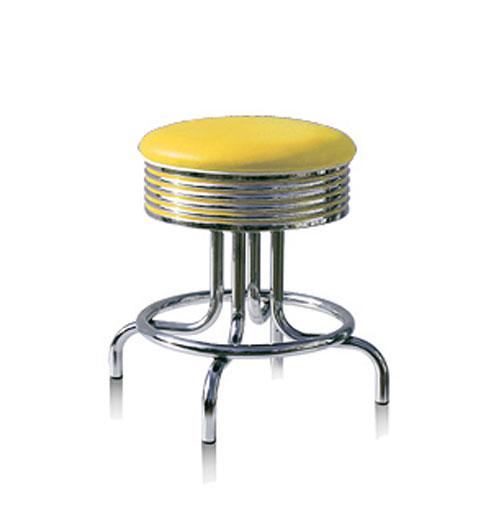 Bel Air Bar Stool BS-28-48 Yellow