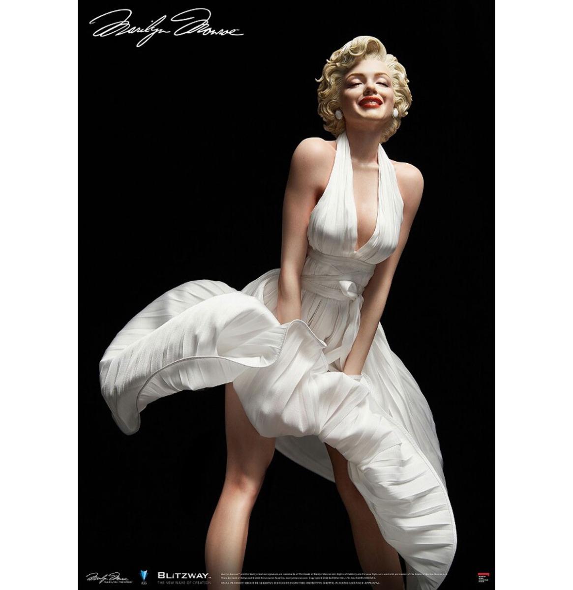 Marilyn Monroe: Marilyn Monroe 1:4 Schaal Standbeeld