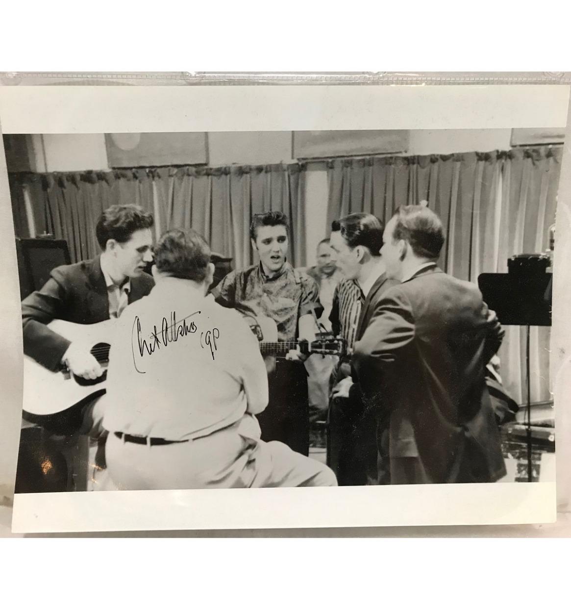 Chet Atkins Foto Gesigneerd - Origineel