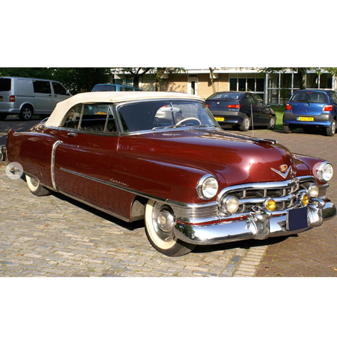 Cadillac Eldorado 8.2 Convertible 1950 - Bordeaux Rood