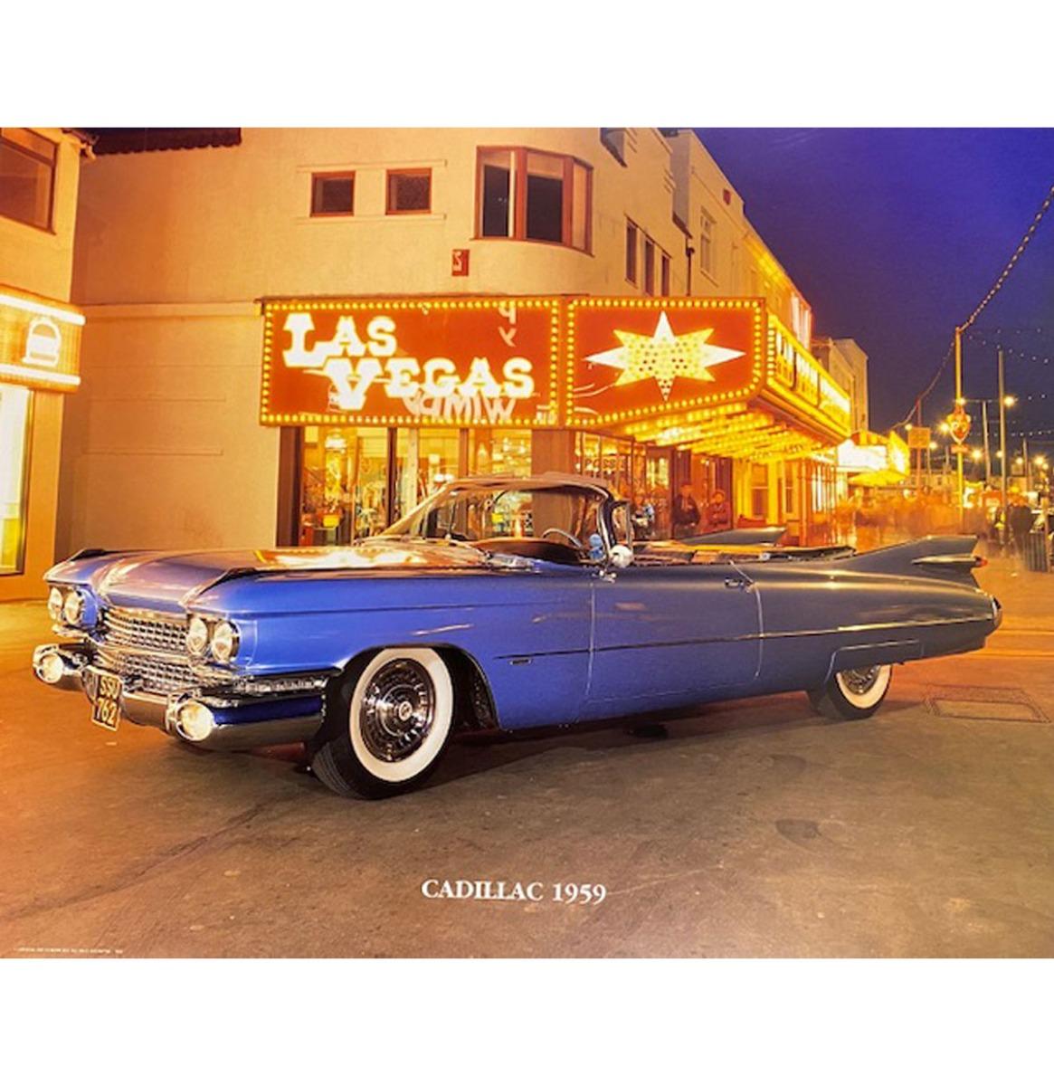 Auto Poster Cadillac 1959 40x50cm