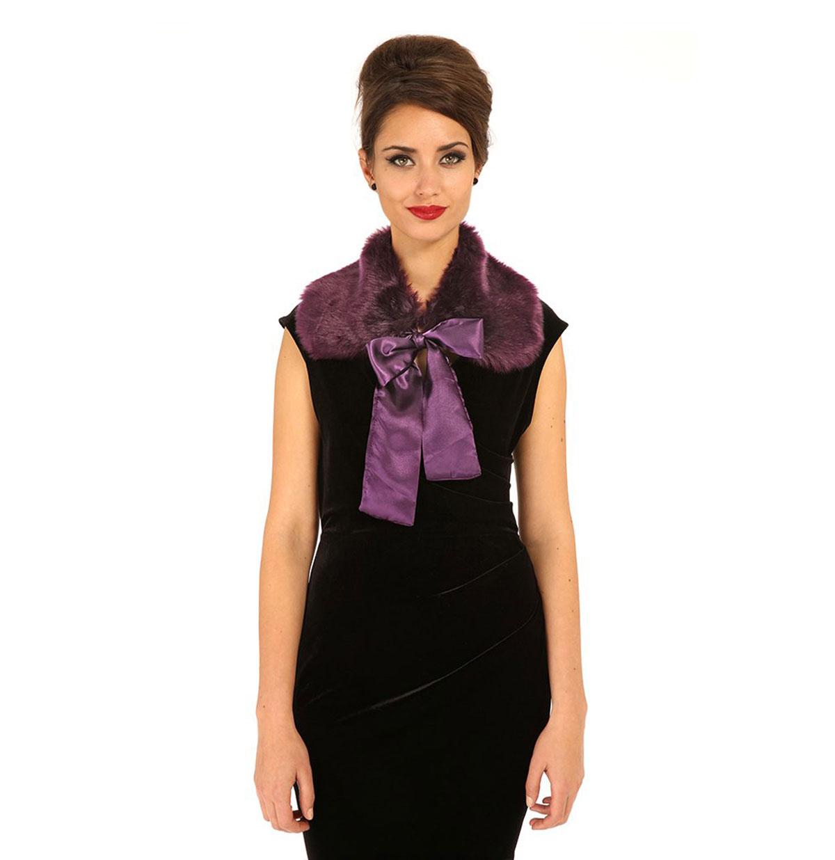 Cally Collar Purple