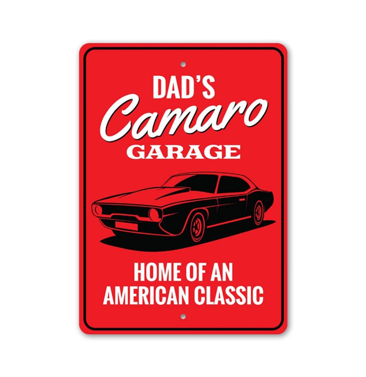 Camaro Garage Bord