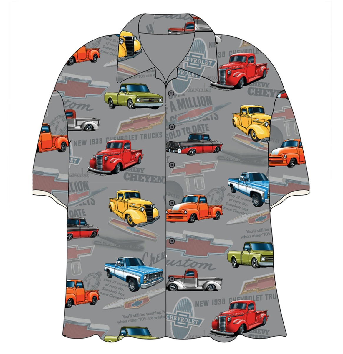 Cars Shirt Chevy Old Trucks Camp