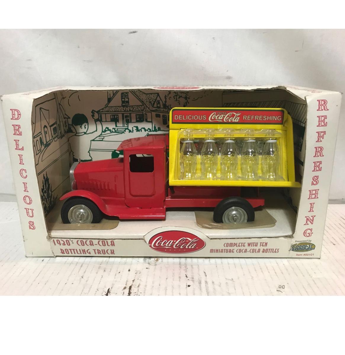 1930's Coca-Cola Flessen Vrachtwagen Schaalmodel
