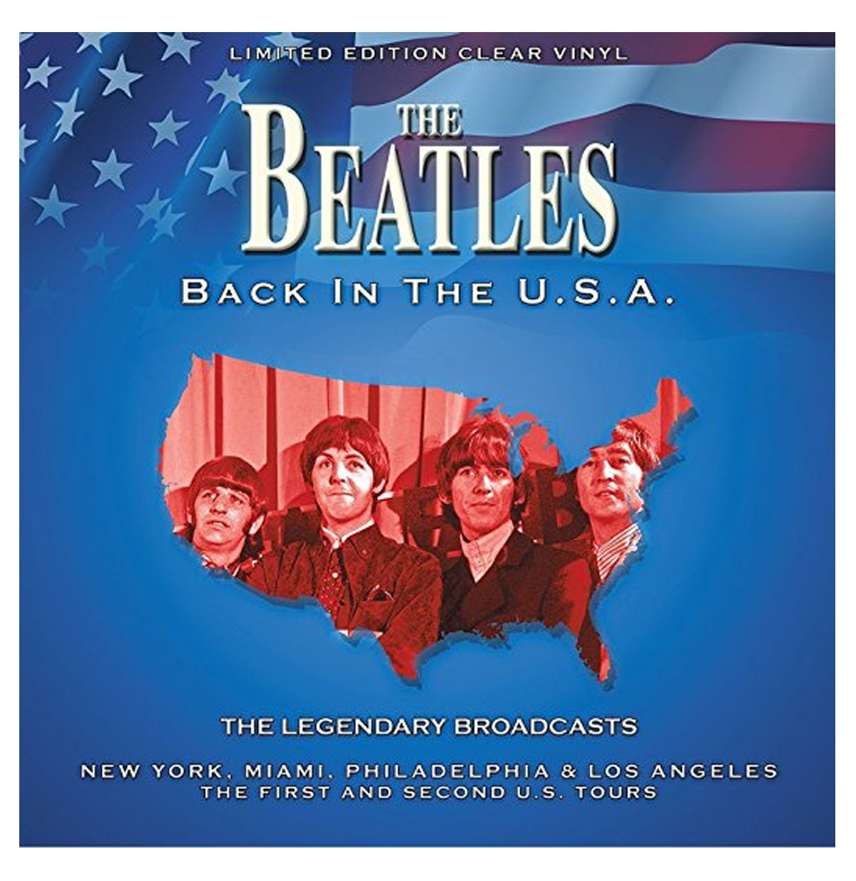 The Beatles - Back in the U.S.A. LP - LIMITED EDITION