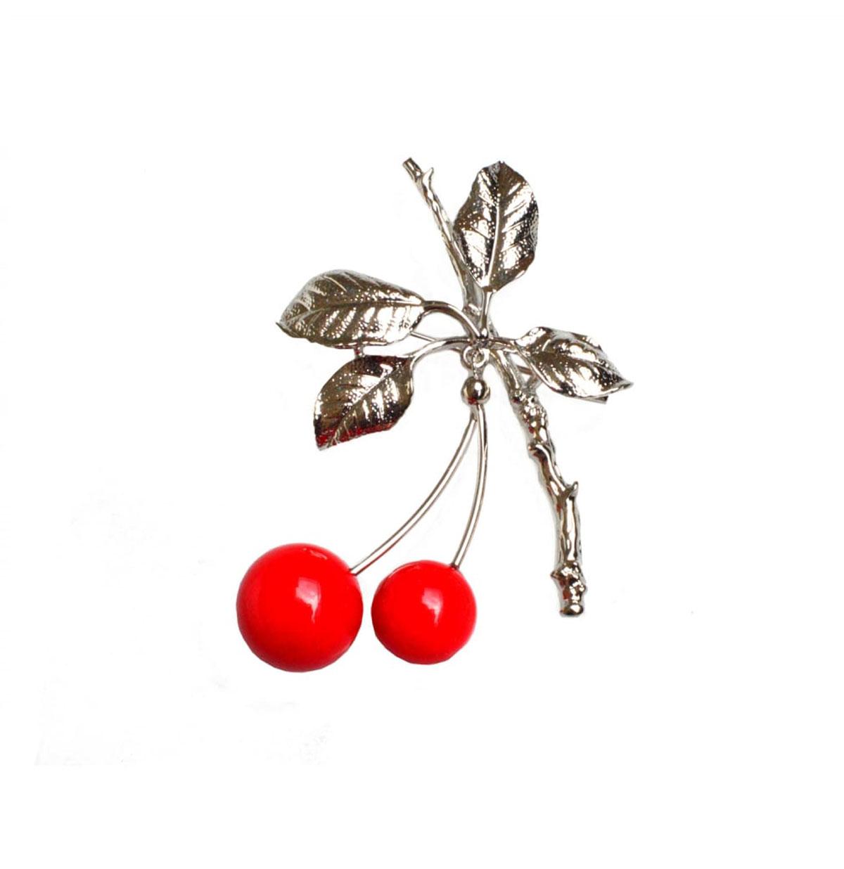 Cherry Branch Broche