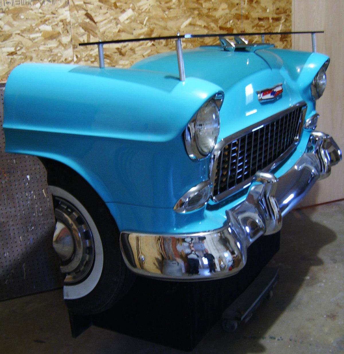 1950's Chevrolet Bar - Van een echte auto