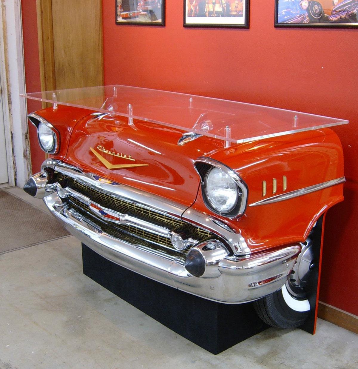 1957 Chevrolet Bel-Air Bar - Van een echte auto