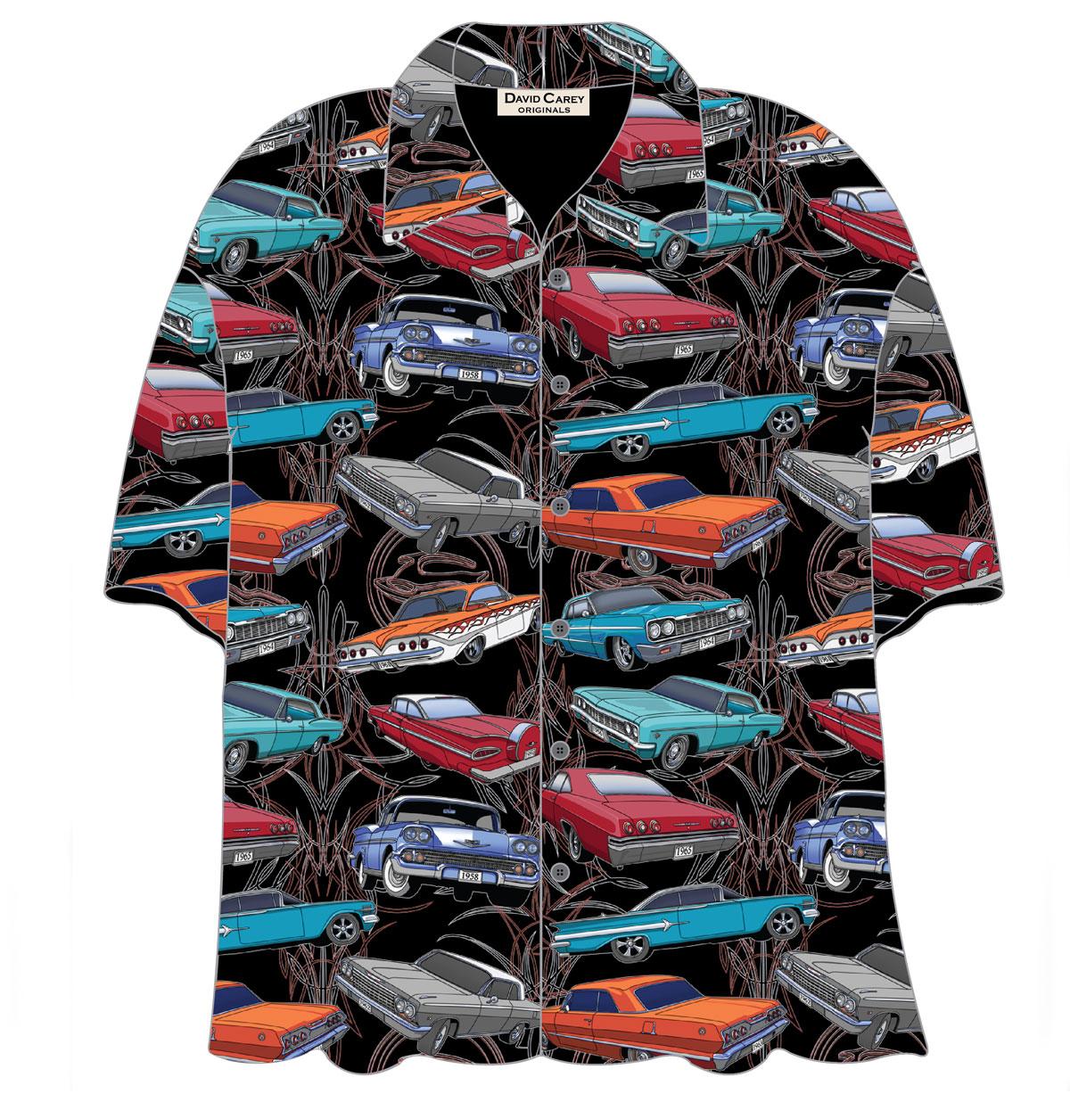 Cars Shirt Chevy Impala Camp