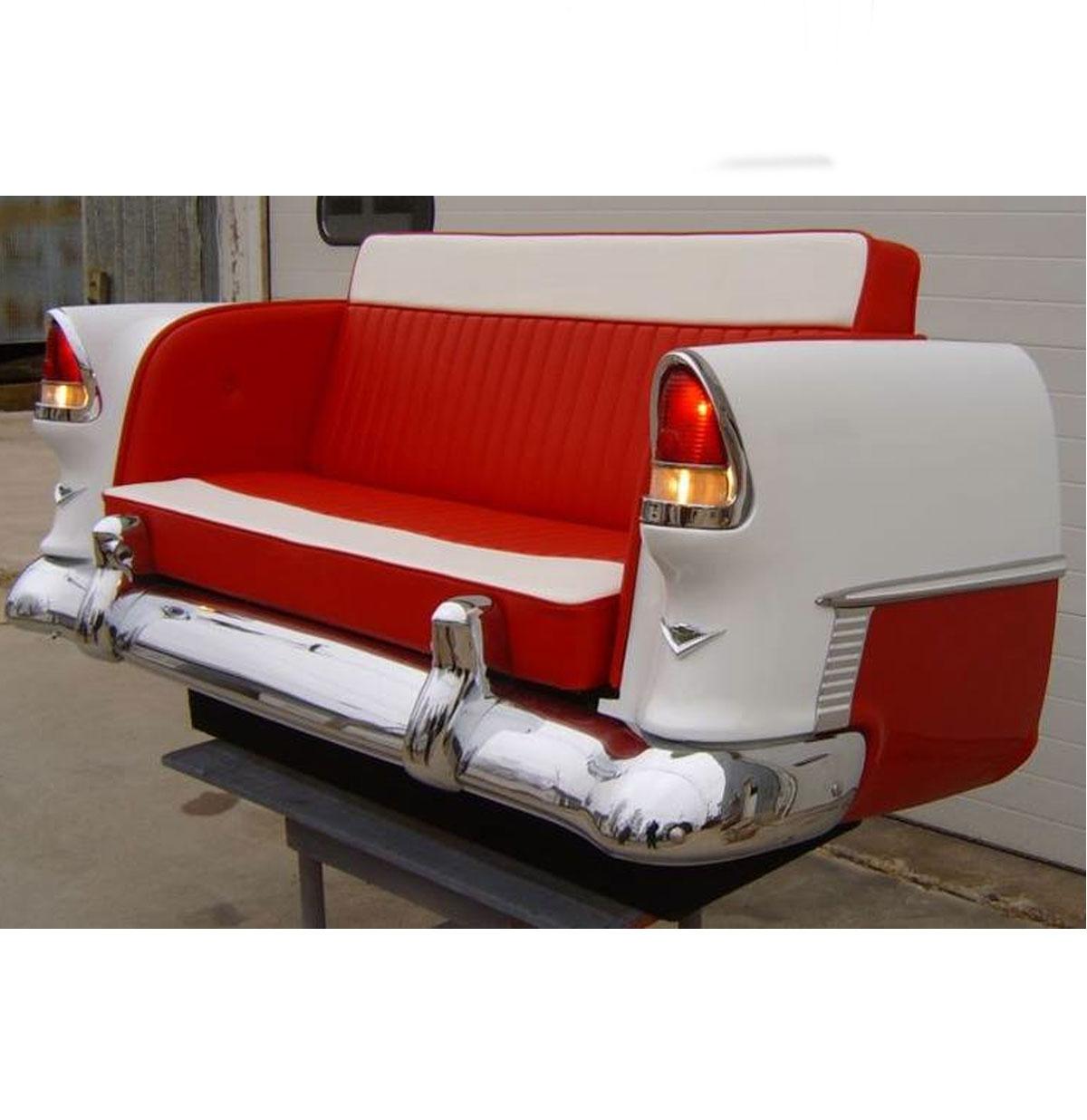 1950's Chevy Bank - Van een echte auto