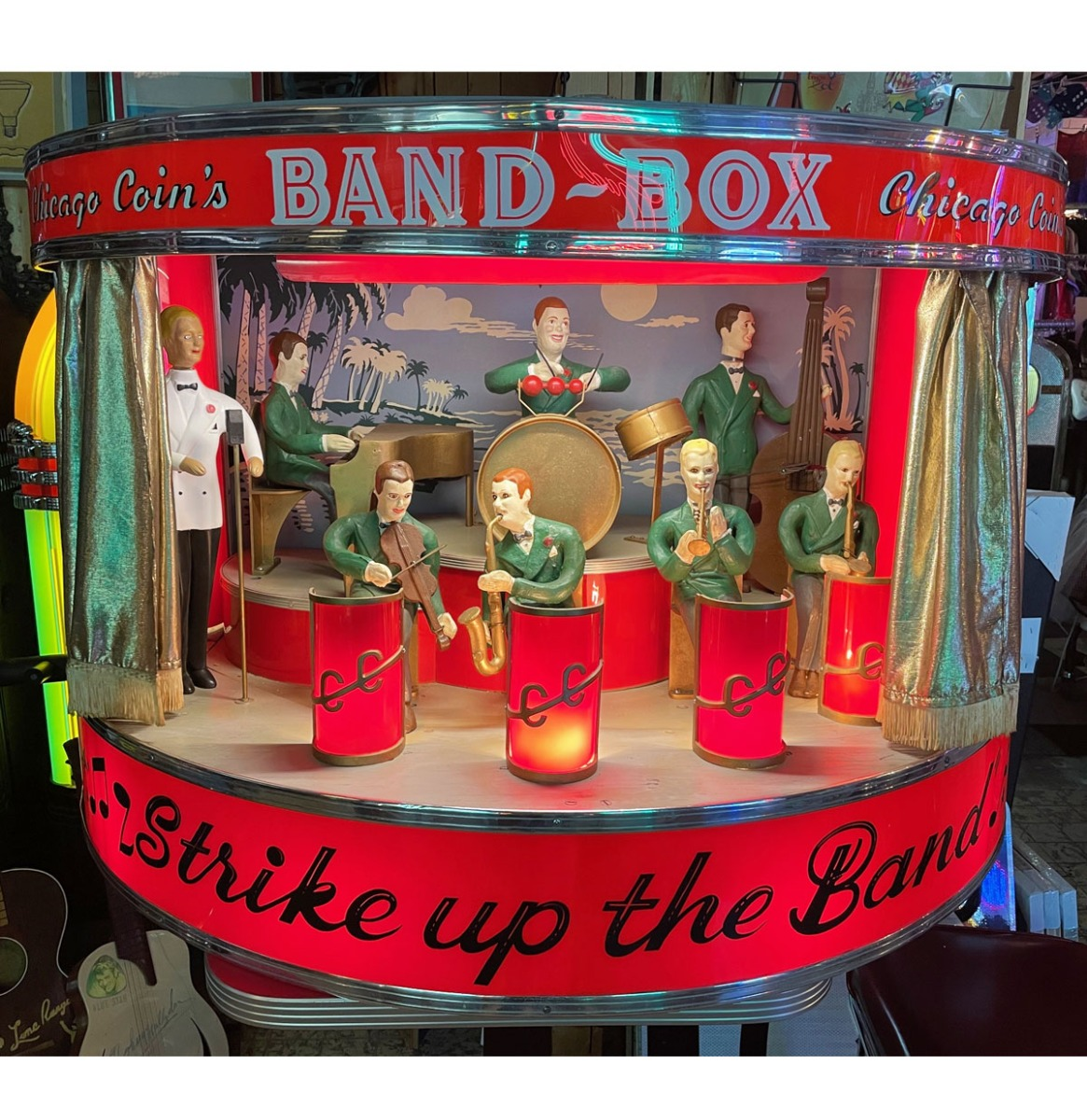 Chicago Coin Band Box 1950-1952 - Gerestaureerd