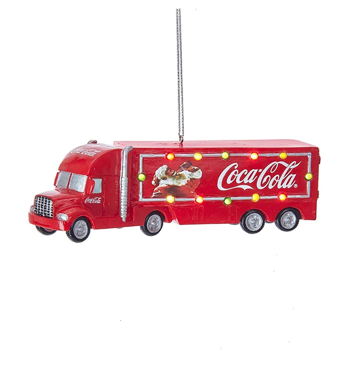 Coca-Cola Vrachtwagen Met Werkende Lichtjes Kersthanger