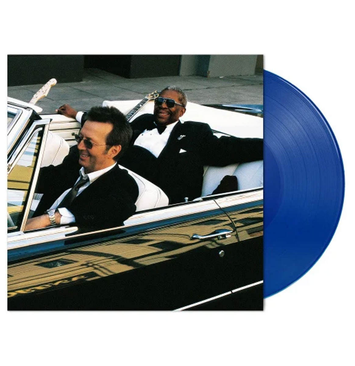 B.B. King And Eric Clapton - Riding With The King LP GELIMITEERDE OPLAGE Blauw Vinyl