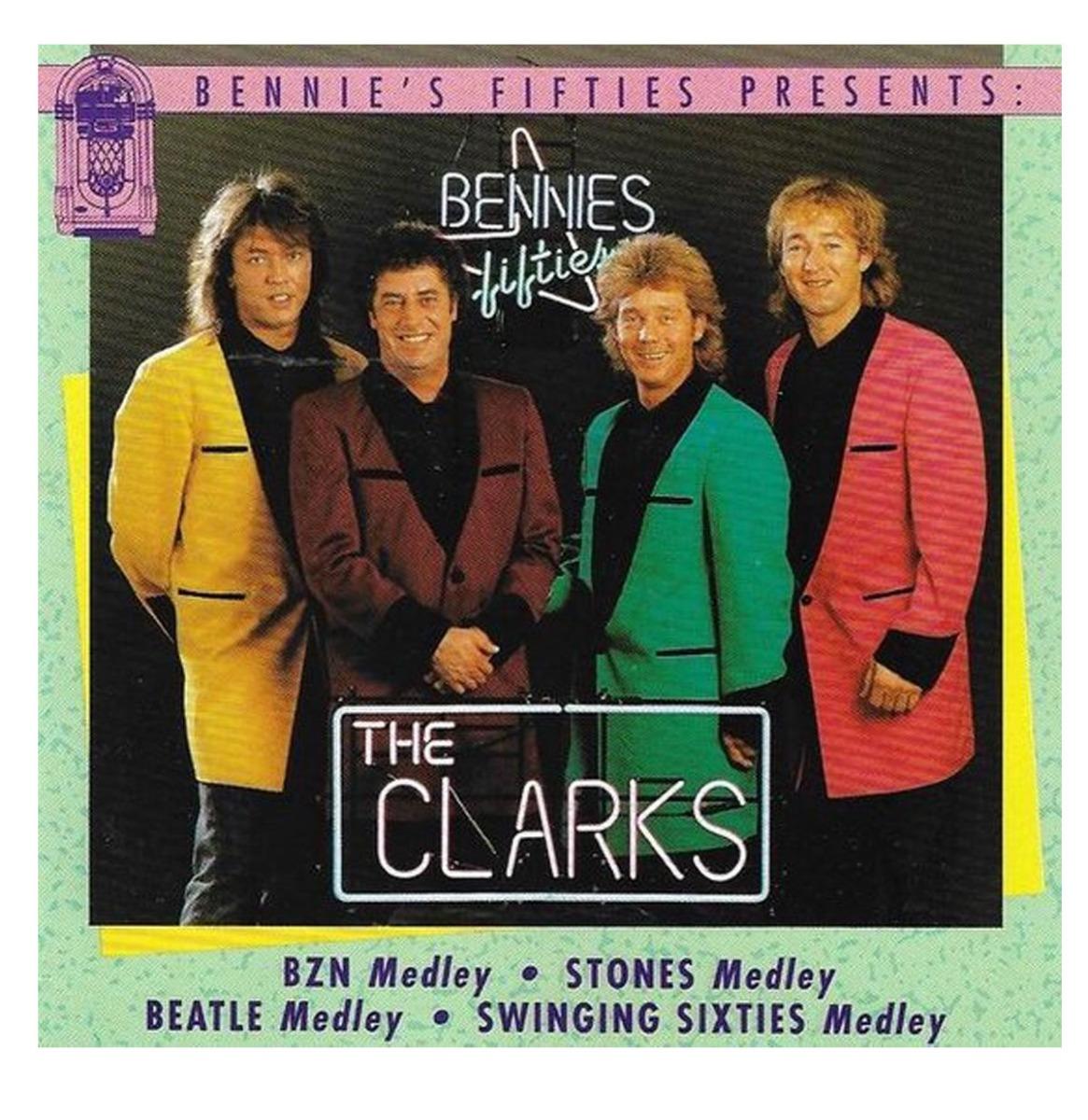 The Clarks - Medleys CD - Bennies Fifties Presents