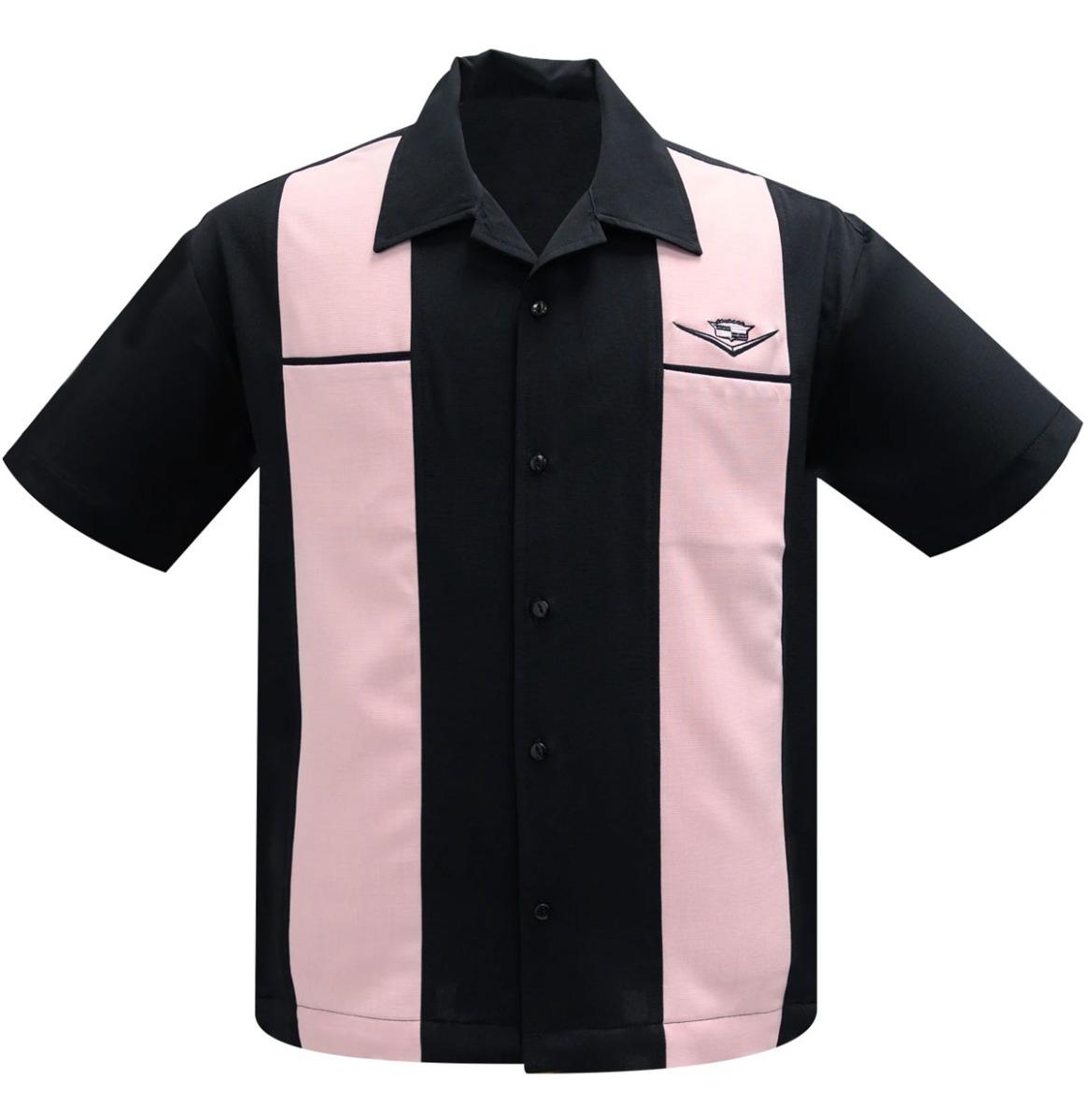 Steady Clothing Classic Cruising Shirt Zwart / Roze