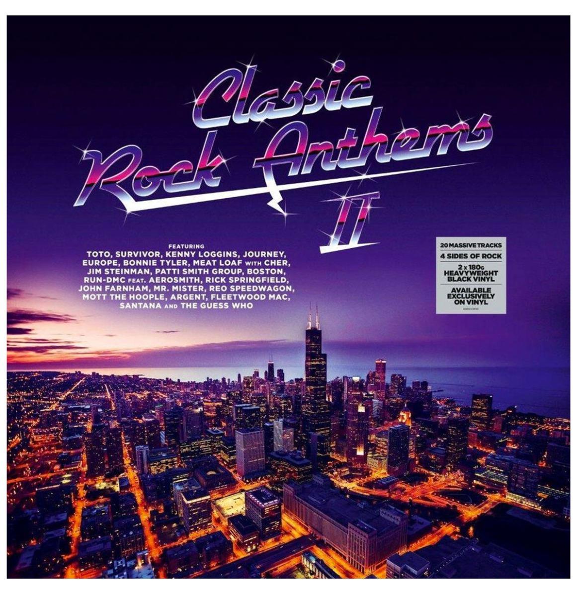 Classic Rock Anthems ll - 2 LP