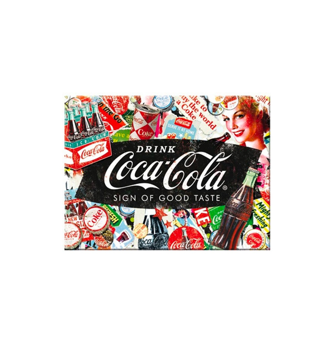 Magneet Coca-Cola - Collage