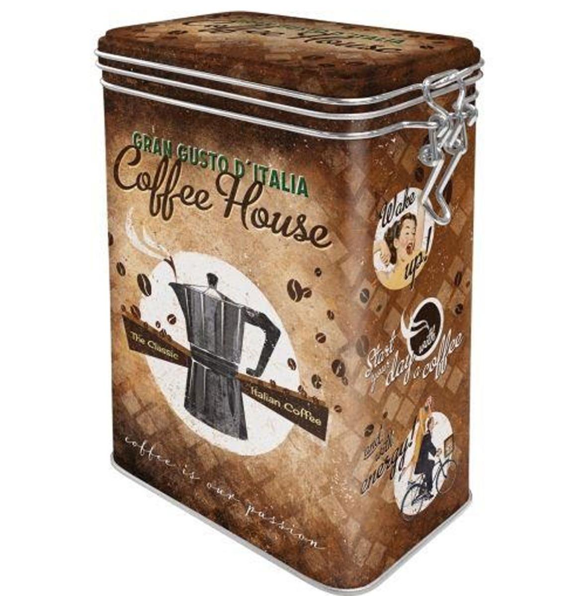 Clip Top Box Coffee House