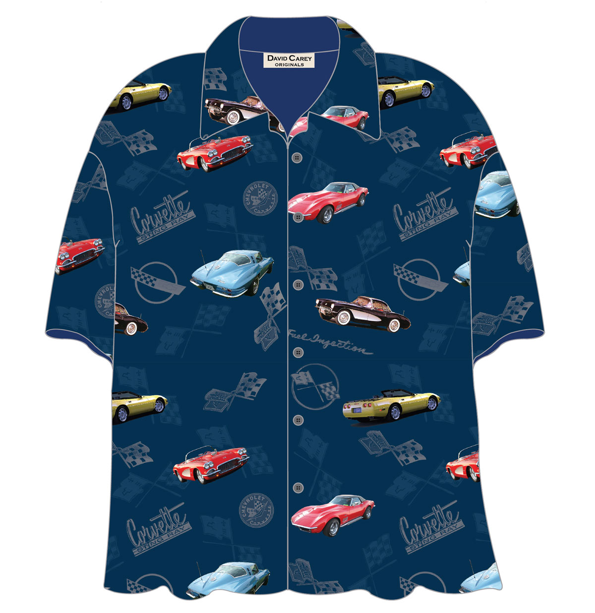 Cars Shirt Corvettes Camp