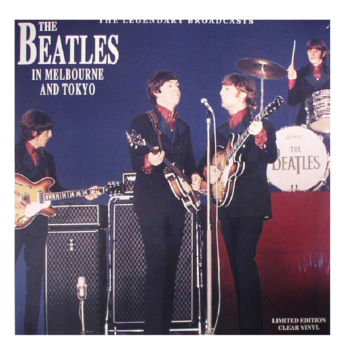 The Beatles - In Melbourne And Tokyo LP - LIMITED EDITION