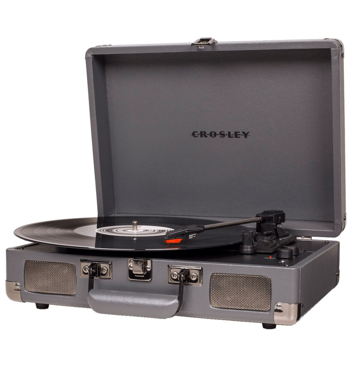 Crosley Cruiser Deluxe Platenspeler Met Bluetooth - Slate