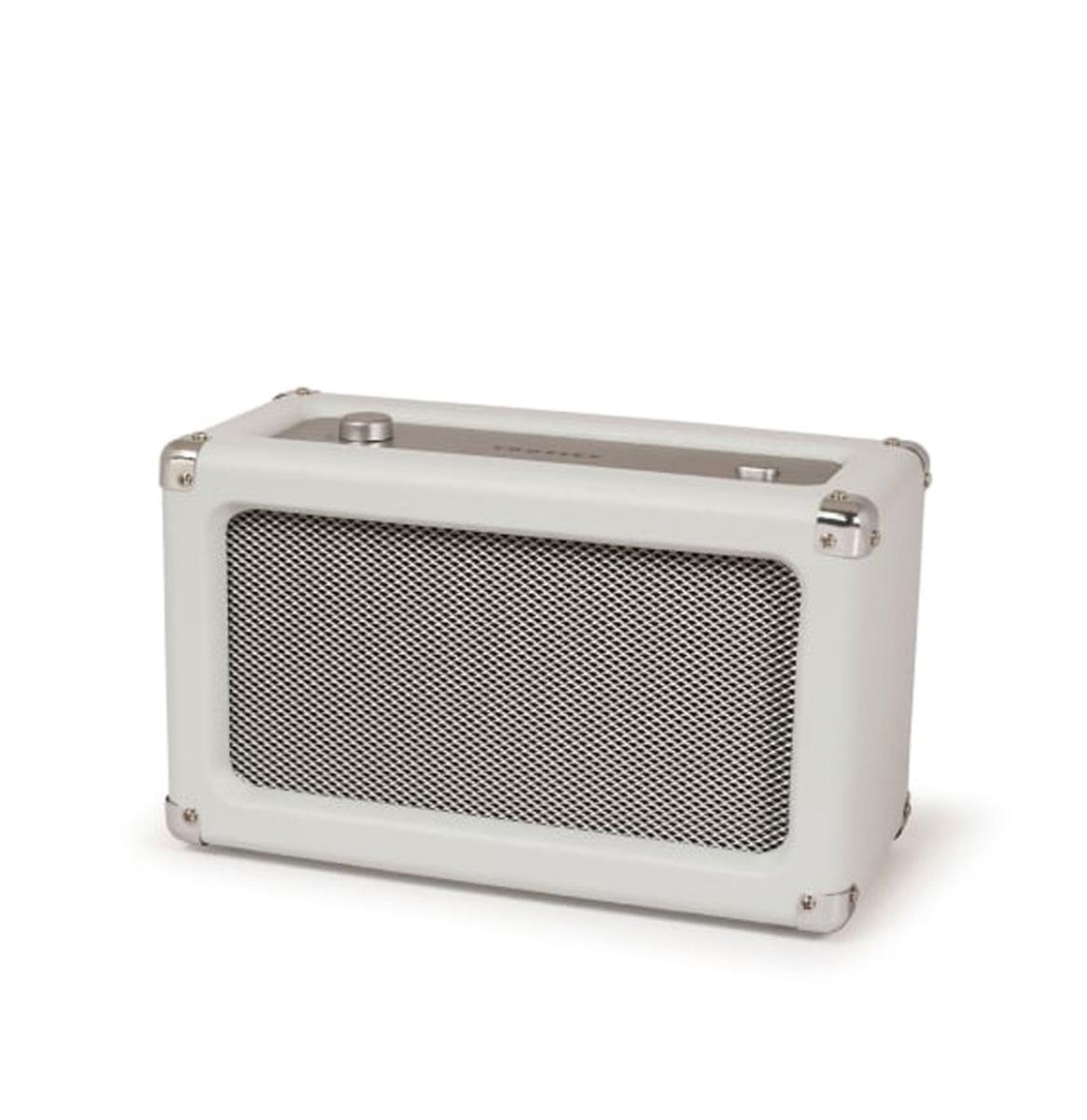 Crosley Charlotte Speaker White/Wit Sand