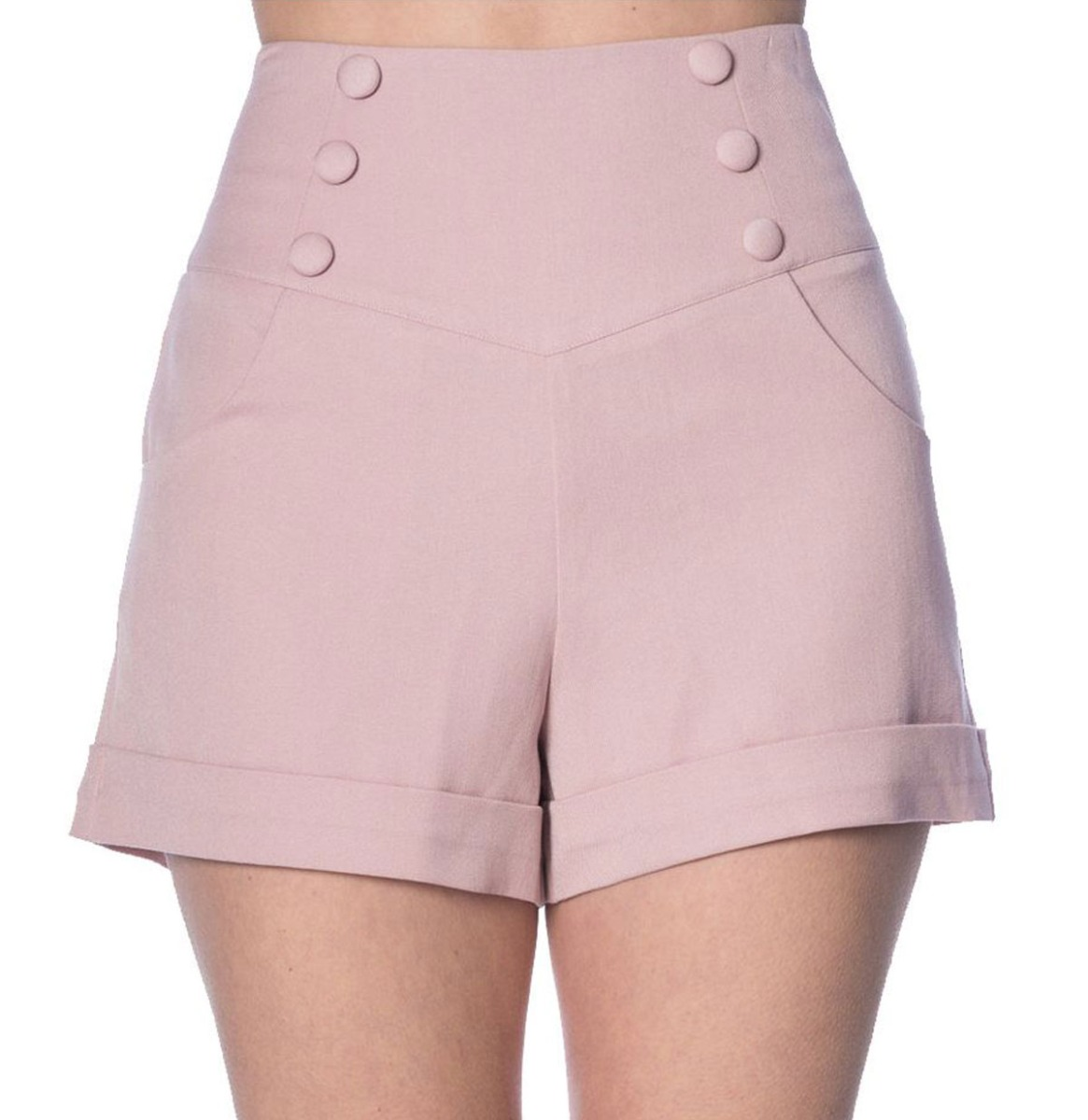 Banned Cute As A Button Shorts Roze