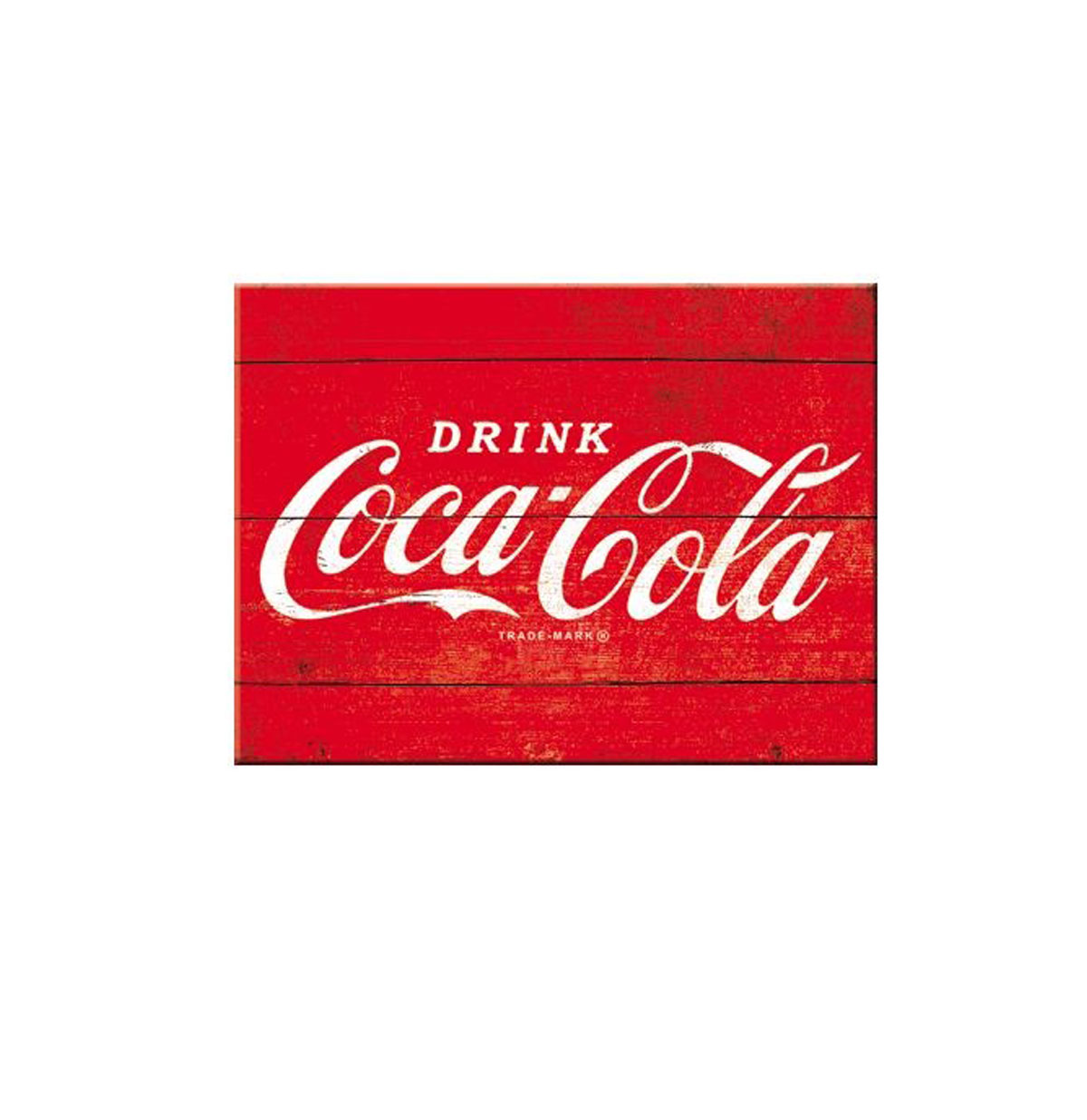 Magneet Coca-Cola Logo Red