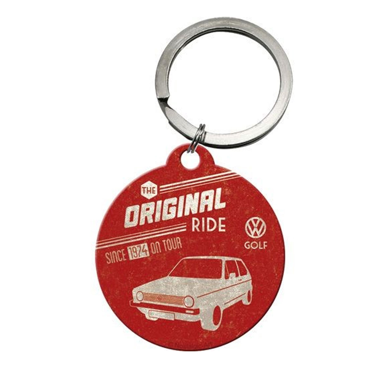 Volkswagen Golf Keychain