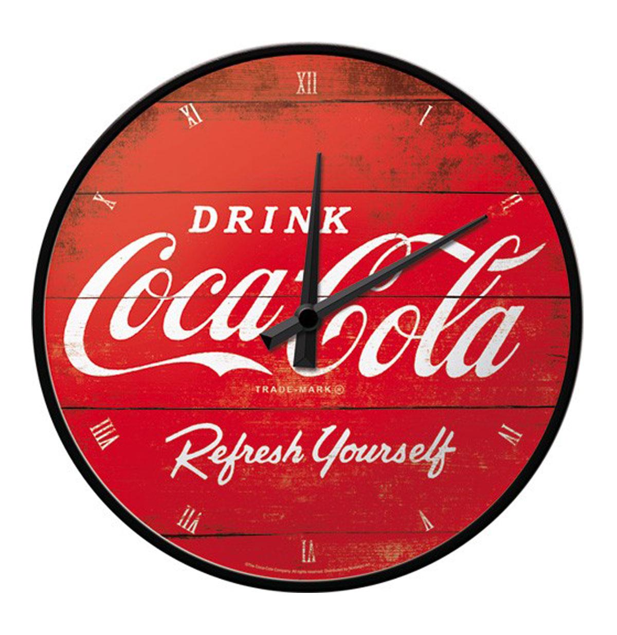 Wandklok Coca-Cola Refresh