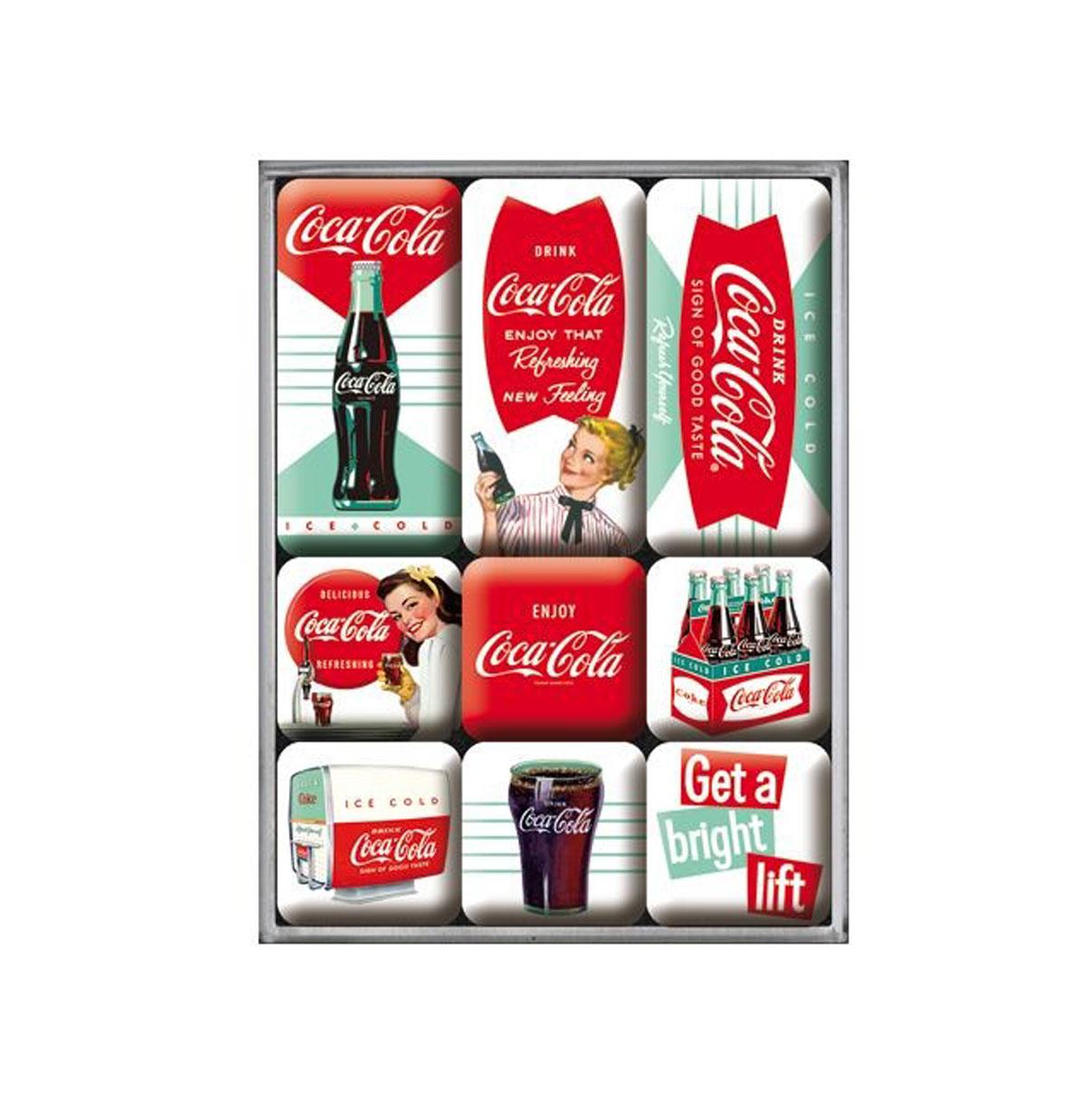 Magneet Set Coca-Cola Diner