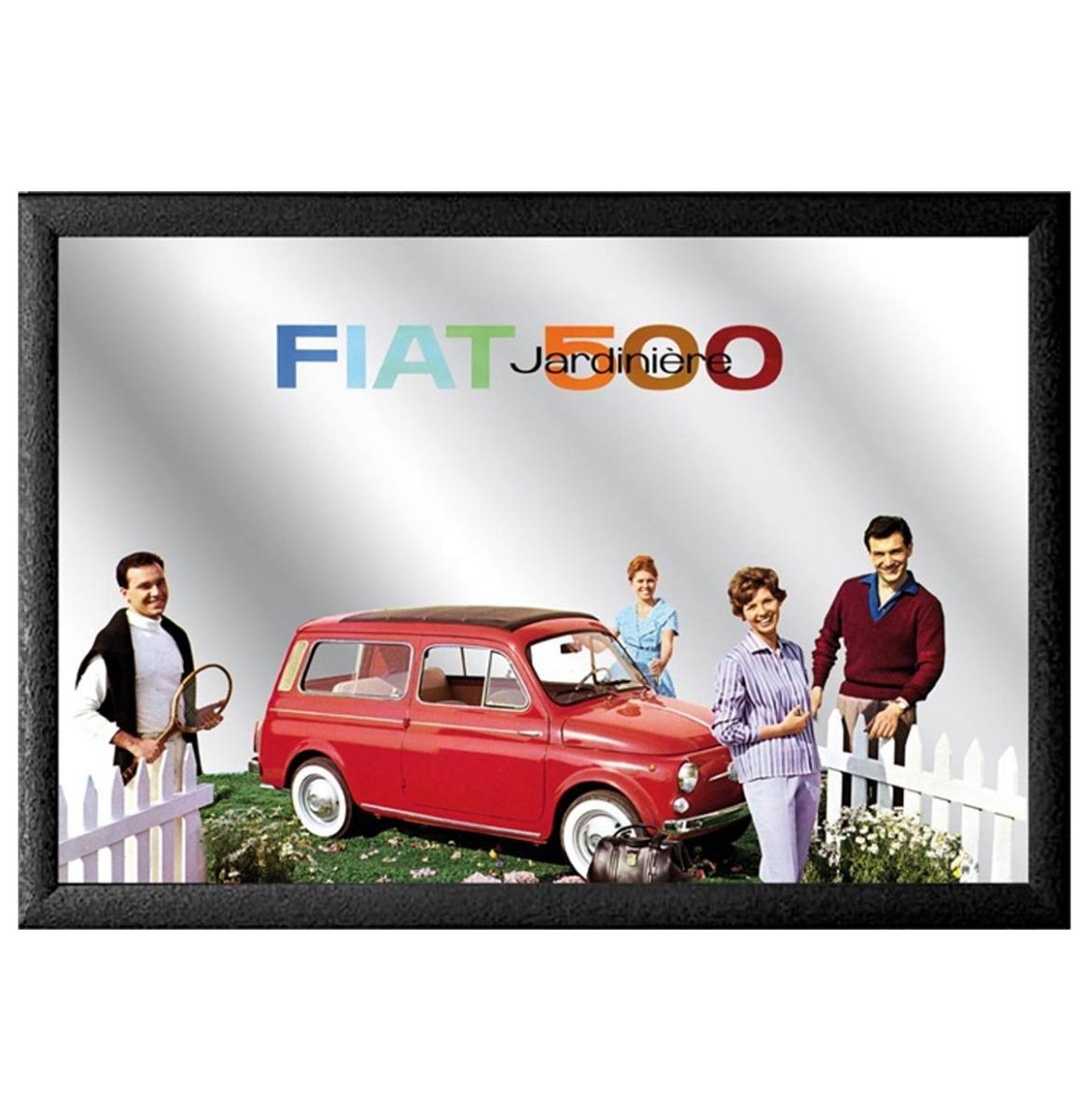 Fiat 500 Tuin Spiegel